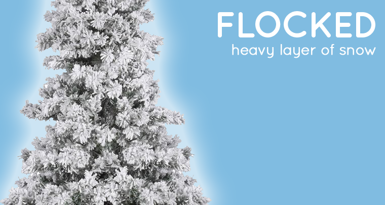 Flocked Vs. Frosted Christmas Trees