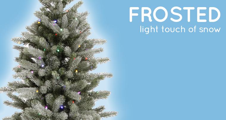 Flocked vs. Frosted Christmas Trees | NorthPoleDecor.com Blog